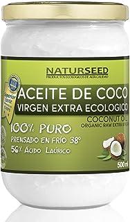 comprar comparacion Naturseed - Aceite de coco Virgen Extra Orgánico - Para uso Estético, en Cocina y Masajes, 500 ml