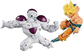 Banpresto Dragon Ball Z Match Makers Super Saiyan Son Gokou & Full Power Freeza Set of 2 Figures