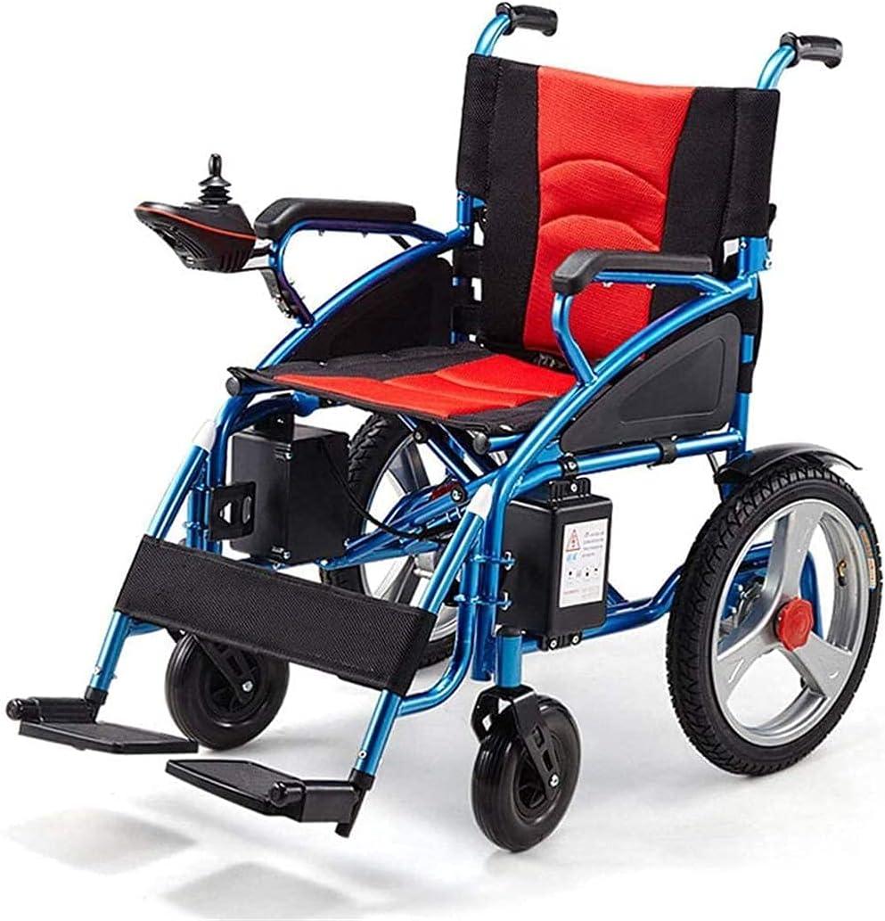 Aluminum Alloy Electric Wheelchair Lightweight Intellige Genuine Folding Max 51% OFF