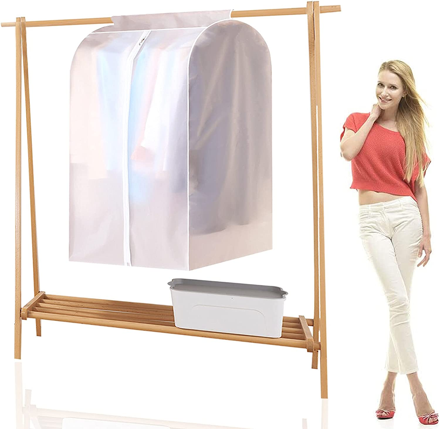 XIAOKUBB Hanging Garment Bags Translucent Breathable New products, world's highest quality popular! Rac Cheap sale