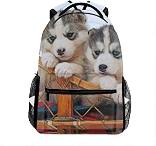 Cute Puppy-21 Casual Backpack, Fashion Cute Lightweight Backpacks for Teen Young Girls