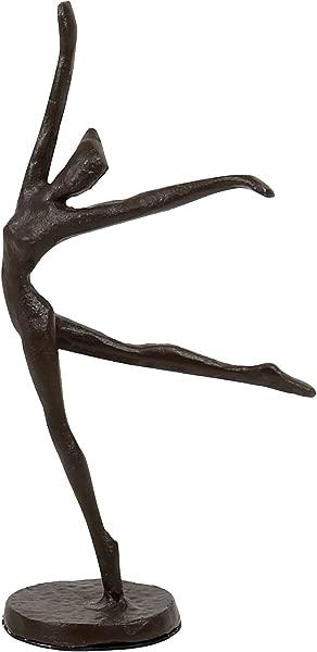 CTG 2 X 7 5 X 2 Inches Antique Bronze Look Ballerina Sculpture Brown