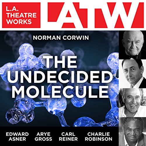 The Undecided Molecule audiobook cover art