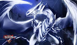 Yugioh! Playmat: Blue-Eyes White Dragon 01