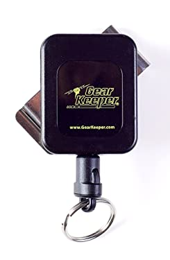 """Hammerhead Industries Gear Keeper Medium Force / 6oz, 36"""", 8-14 Key Retractor RT4-5851 – Features Heavy-Duty Durable Stainless Rotating Belt Clip with Q/C Split Ring Accessory – Made in USA"""