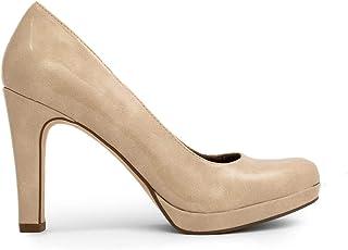 Tamaris Trendy Leather High Heel Pumps