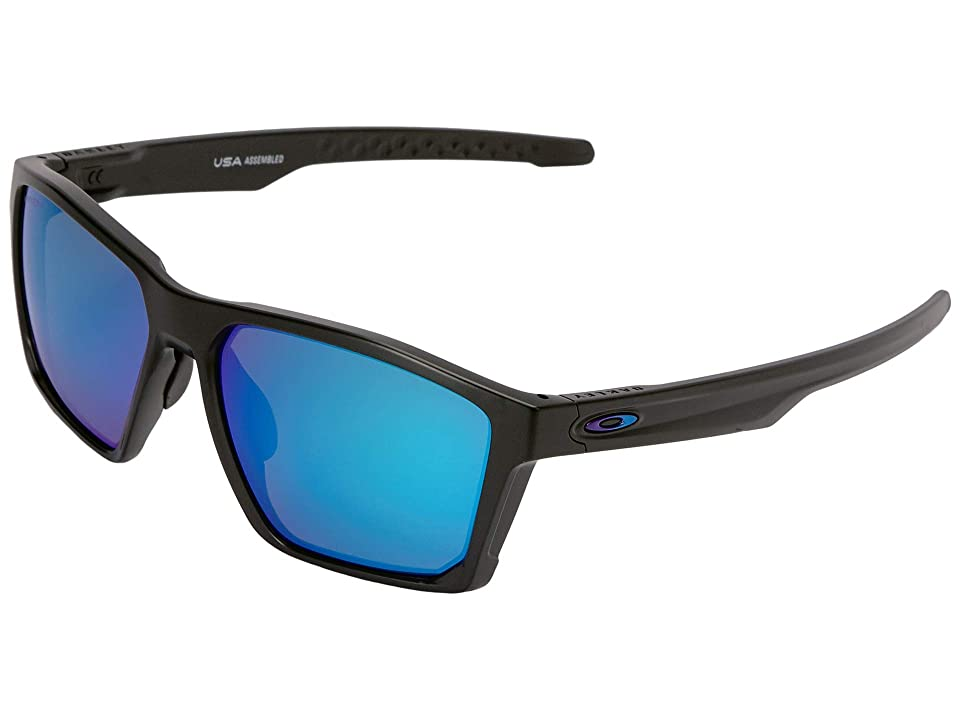 Oakley Targetline (Aero Matte Black w/ Prizm Sapphire) Athletic Performance Sport Sunglasses