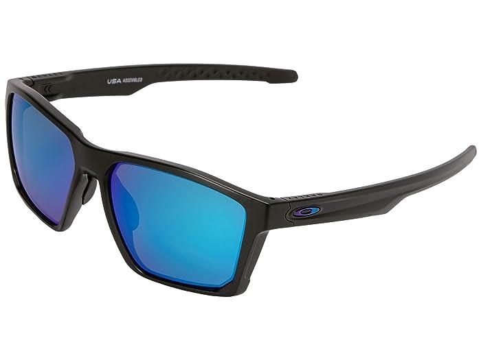 Oakley Targetline (Aero Matte Black w/ Prizm Sapphire) Athletic Performance Sport Sunglasses
