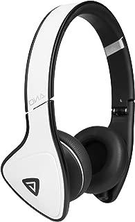 Monster DNA On-Ear Headphones, White Tuxedo