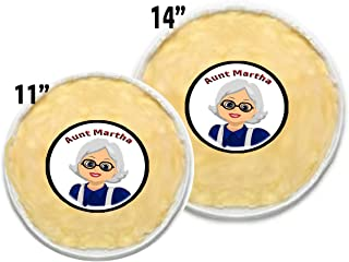 9 Inch Pie Baking Dishes with Handles Kingrol 3 Pack Glass Pie Plates