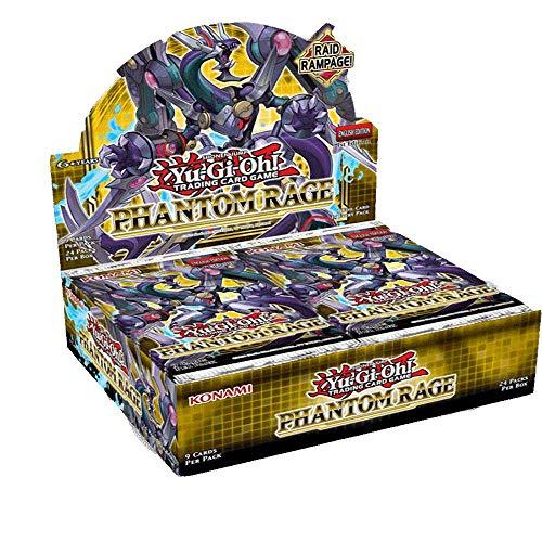 YuGiOh Phantom Rage Booster Box