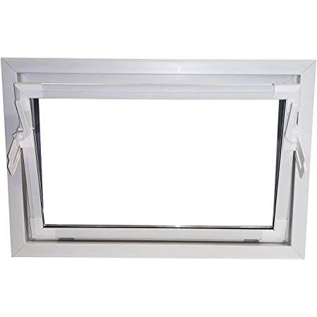 60 mm Profil Kunststoff Kellerfenster BxH: 80 x 60 cm innen wei/ß//au/ßen golden oak 800 x 600 mm Fenster 3 fach Verglasung DIN Rechts