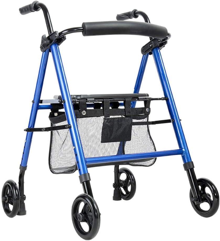 FHISD Walker for Seniors Rollator Elderly Free Shipping Cheap Bargain Gift Trolley Popular popular with