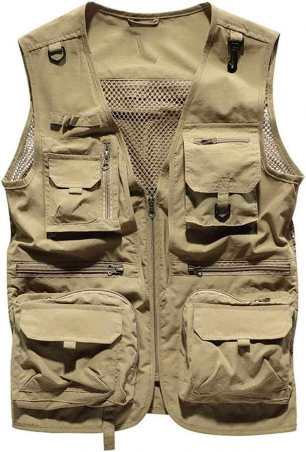 Fishing Vests for Men Vest Our shop most popular Men's Seattle Mall Outdoor Quick Fishi Dry