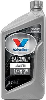 Valvoline Advanced Full Synthetic 20W-50 Motor Oil - 1qt (Case of 6) (VV945-6PK)