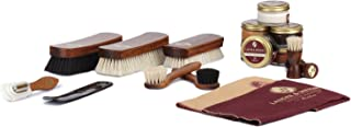 Langer & Messmer set de 17 pièces pour l´entretien e le soin professionnel de vos chaussures contenant crèmes de cirage et...