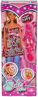 Steffi Love Welcome Baby Pregnant Doll with Baby and Accessories.