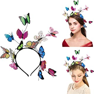 Butterfly Headbands for Women Hair Hoop, Mother day gift, Creative Elegant Design Hair Band Costume Accessories Headband F...