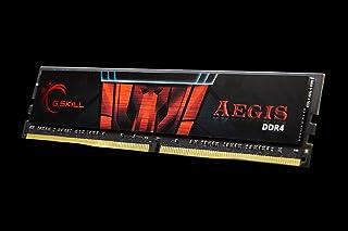 G.SKILL Aegis 16GB 288-Pin DDR4 SDRAM DDR4 2666 (PC4 21300) Desktop Memory Model F4-2666C19S-16GIS