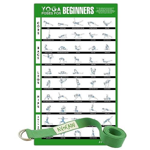 Yoga Poses Chart: Amazon com