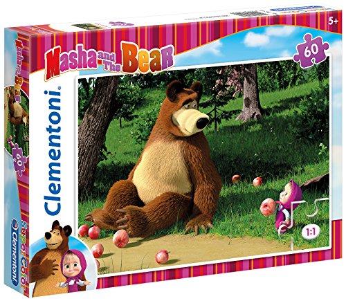 Clementoni - Puzzle Masha and The Bear, 60 Piezas (260461)