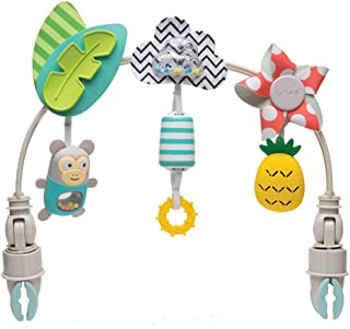 Taf Toys Tropical Orchestra Arch | Ideal for Infant and Toddlers, Fits Stroller and Pram, Activity Arch with Fascinating T...