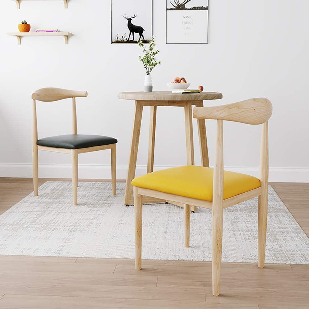 Nordic Wind Chair, Tabouret Minimaliste Moderne, Dossier Domestique, pour La Cuisine à Manger Living Salle Familiale Chambre Porche Terrasse Balcon DéCor Meubles Brown