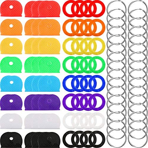 ORANGE KEY COVER CAP ID TAG USED FOR COLOUR CODEING PACK OF 6 Car Electronics & Accessories Accessories