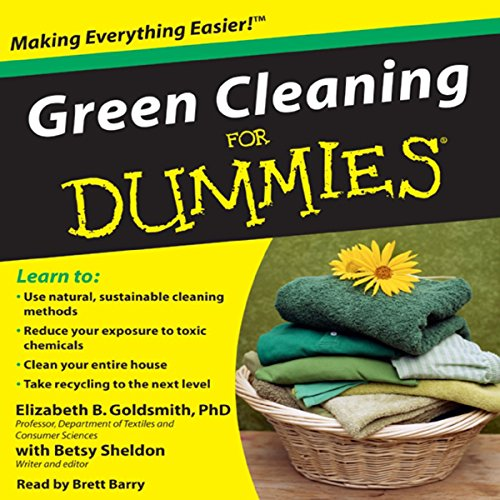 Green Cleaning for Dummies audiobook cover art