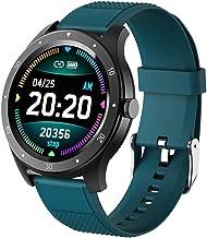 Smart horloge, fitness tracker met slaapmonitor, outdoor mode sport stappenteller, bluetooth sport armband armband-groen