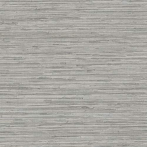 Norwall NT33705 Vinyl Faux Grasscloth Wallpaper Color Gray