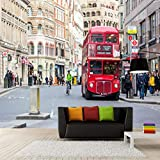 3D Photo Wallpaper London City View Modern Wall DecorationWall Mural for Living Room Bedroom Office Corridor Decoration Murals Modern Wall Decoration-250x175 Cm (WxH)