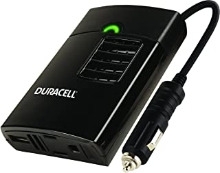 Duracell Power DRINVP150 Portable Power Inverter, 150 Watt Peak (130w Continuous), Black
