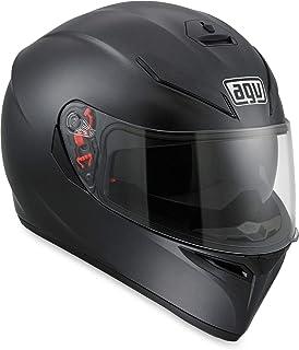AGV K3 SV Solid Adult Street Motorcycle Helmet - Matte Black/Large