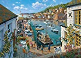 JINZUO 1000 Pièces Puzzle Enfant Adultes Bois 3D 8 Ans Fille Garcon Paysage Classique Jouets Art Déco Cadeau Femme Homme Havre De Sécurité