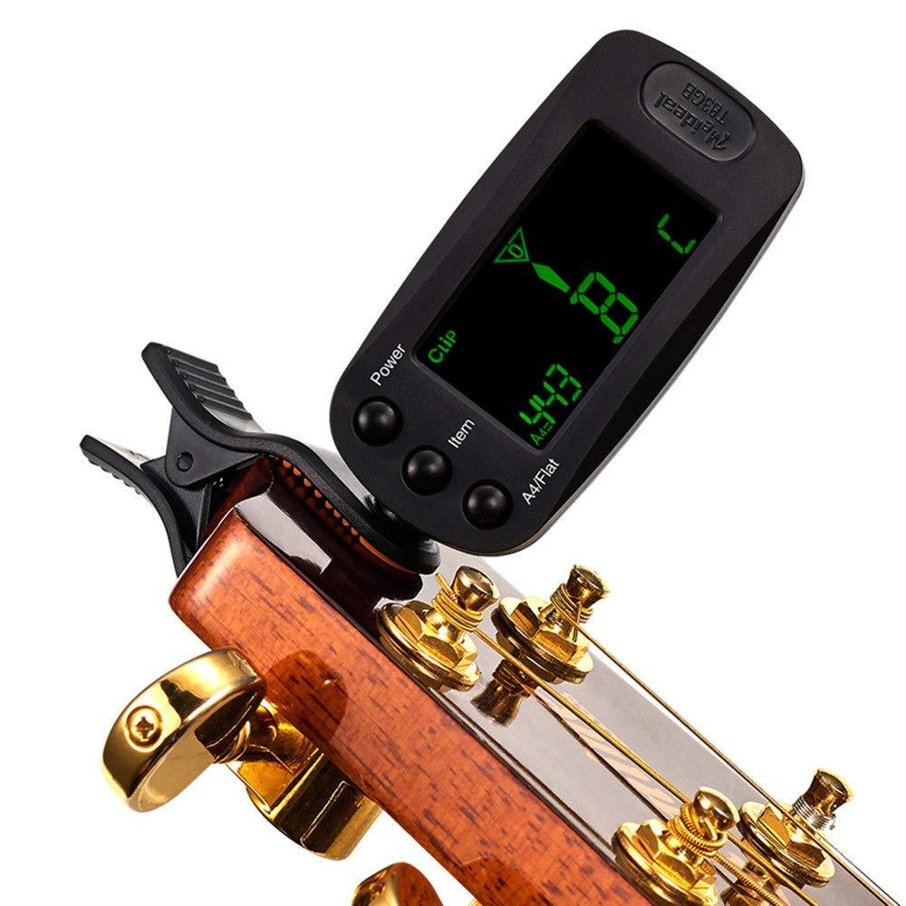 AFCITY Sintonizador Afinador Guitar Tuner Guitarra acústica ...