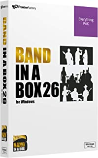 PG Music ピージーミュージック/Band-in-a-Box 26 for Win EverythingPAK バンドインアボックス