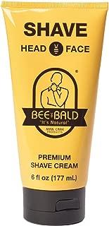 Bee Bald SHAVE Premium Shave Cream (6 fl. oz.)