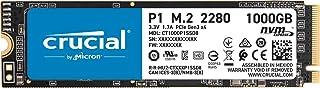 Crucial P1 1 TB CT1000P1SSD8 SSD Interno Fino a 2000 MB/s, 3D NAND, NVMe, PCIe, M.2