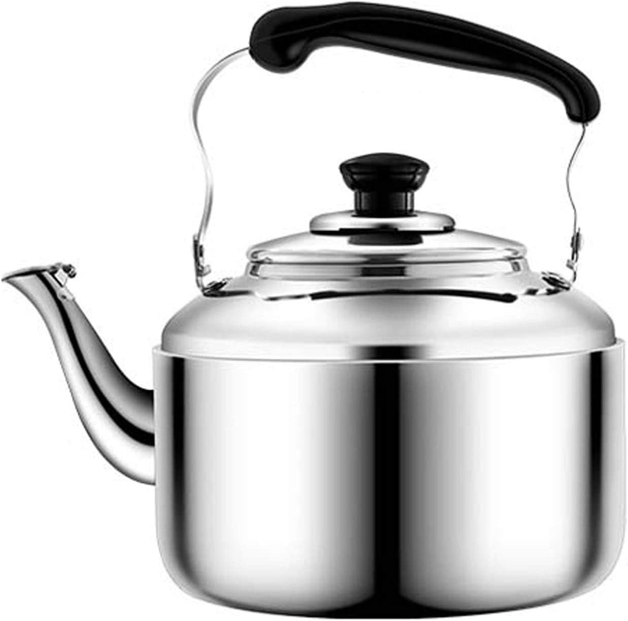 LIU Whistling Sales Outlet ☆ Free Shipping Kettles Stove Whistle Teap Stainless Teapot Steel