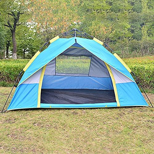 ZFRXIGN Carpa Al Aire Libre Automática para Acampar Carpa A Juego con Doble Color Carpa para Sol Y Lluvia(Color:Azul)