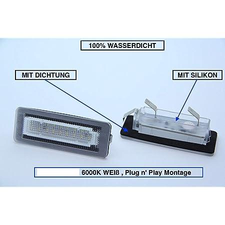 Doled B15 Led Kennzeichenbeleuchtung Xenon Weiss Mit E Prüfzeichen Auto