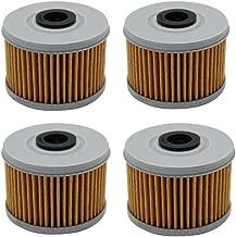 Cyleto Oil Filter For HONDA TRX500 TM TRX500TM FOREMAN 500 2005 2006 (Pack of 4)