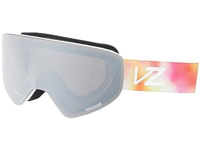 VonZipper Encore (Little Fluffy Clouds Satin/Wild Silver Chrome) Goggles