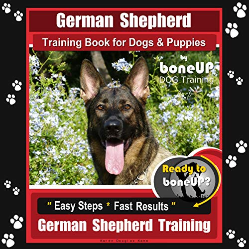 German Shepherd Training for Dogs and Puppies by BoneUP Dog Training audiobook cover art