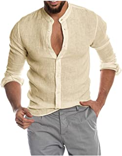JXG Men Long Sleeve Lapel Tie Dye Button Down Slim Fit Dress Shirt Top