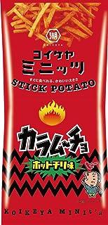 湖池屋 スリムバッグシリーズ コイケヤミニッツ スティックカラムーチョ ホットチリ味 40g x 6袋