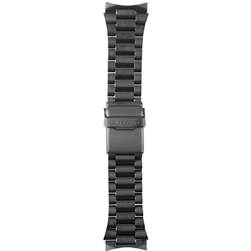 Citizen 59-S01091 Original Replacement Black Ion Plated Stainless Steel Watch Band Bracelet fits BJ7005-59E CA0295-58E B877M-S015707 B612M-S078245