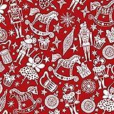 Nussknacker, Polybaumwoll-Stoff, knackend, Weihnachten,