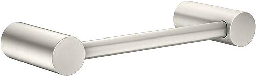 popular Moen YB0486BN Align discount 9-Inch Modern Hand outlet sale Towel Bar, Brushed Nickel sale